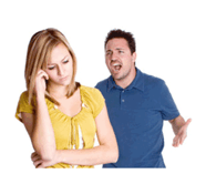 narcissistic personality disorder looks like this - man yelling at woman